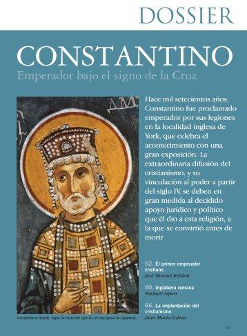 Constantino. Emperador bajo el signo de la Cruz