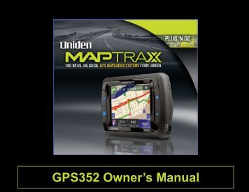 GPS352 Owner's Manual - at Uniden