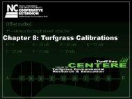 Section 8: Sprayer/Spreader Calibration - TurfFiles