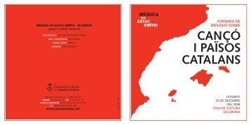 cançó i països catalans - Espai País Valencià