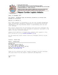 Date: 11 December 2007 MCLI takes pleasure in forwarding to you ...