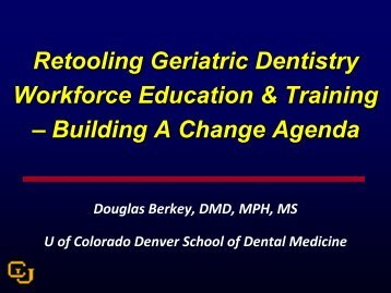 Conference PPT (16 MB) - Institute for Oral Health