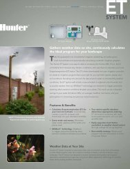 ET System Brochure - Hunter Industries