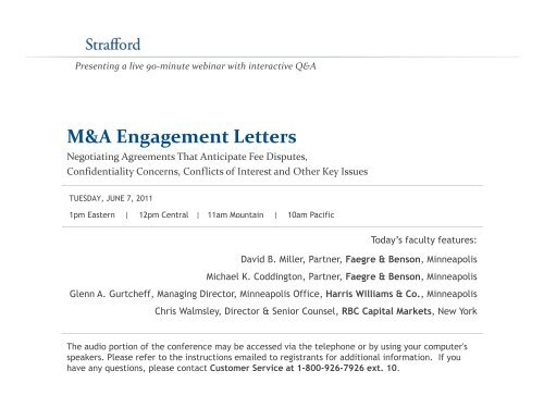 Investment banking m&a engagement letters for consultants kpmg ifrs 10 investment entities in database