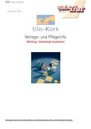 tilo-Kork - Holz-TRAT Ideen in Holz