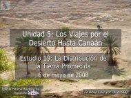La distribución de la tierra prometida - Iglesia Biblica Bautista de ...