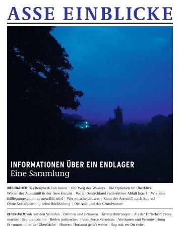 INFORMATIONEN üBER EIN ENDLAGER Eine Sammlung - Asse II