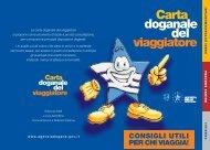 Carta doganale - Aeroporto di Catania