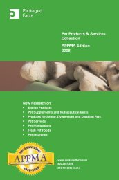 Pet Products & Services Collection APPMA Edition ... - Packaged Facts