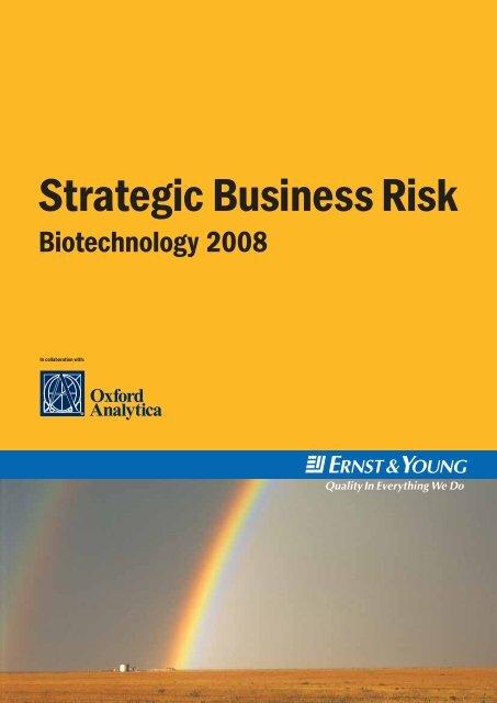 Strategic Business Risk - Life Sciences