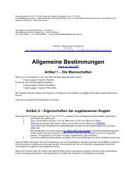 DPV-Regeln 2008 - Boule-Voleuse Heilbronn