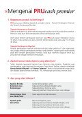 PRUcash premier - Prudential Malaysia - Page 4