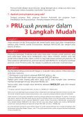 PRUcash premier - Prudential Malaysia - Page 6