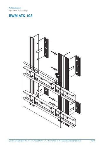 2.09 BWM ATK 103 - Gasser Fassadentechnik AG
