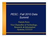 Keynote Address - Patrick Perry - PESC