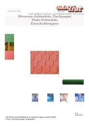16 Schindlen und Bodentreppen - Holz-TRAT Ideen in Holz