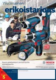 erikoistarjous - Bosch-sähkötyökalut
