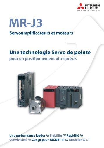 MR-J3 Servoamplificateurs et moteurs - Esco Drives & Automation