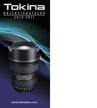 TOKINA - Katalog 2010/2011 - HapaTeam
