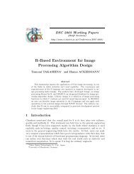 R-Based Environment for Image Processing Algorithm Design
