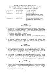 DOCG Conegliano Valdobbiadene - Prosecco ... - Valoritalia