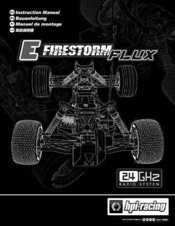 Anleitung - HPI Racing