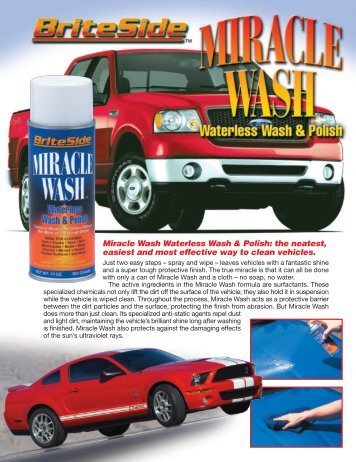 G1277 - Briteside Miracle Wash Brochure - OilTek Solutions
