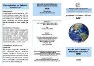 NAB - Brasileiros no Mundo - Ministério das Relações Exteriores