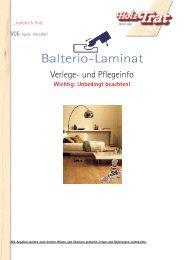 Balterio-Laminat - Holz-TRAT Ideen in Holz