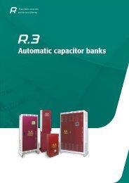 Metartec e3's Automatic Capacitor Banks