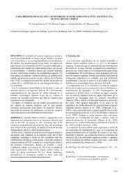 Variabilidad espacial del contenido de materia orgánica en el suelo ...