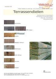 Kiefer, kdi Grün - Holz-TRAT Ideen in Holz