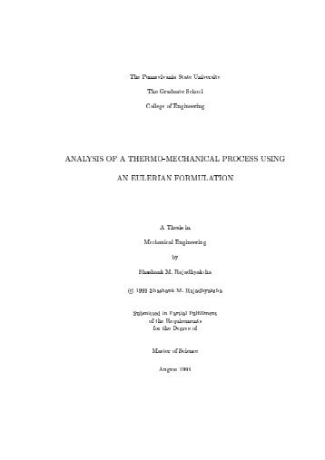 thesis in pdf - Department of Mechanical and Nuclear Engineering