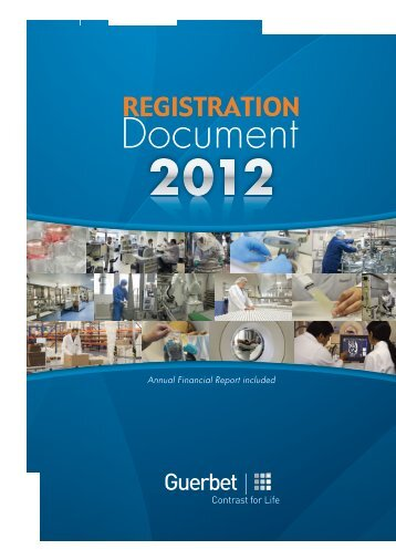 Read the Registration Document - Guerbet