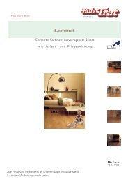 F10: Laminat Balterio - Holz-TRAT Ideen in Holz
