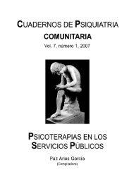 Vol 7. Nº 1. 2007 - Asociación Española de Neuropsiquiatría