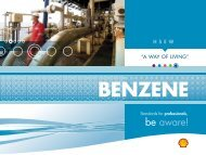 SHELL Benzene onscreen GB