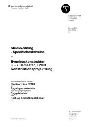 Kontruktionsprojektering - KEA