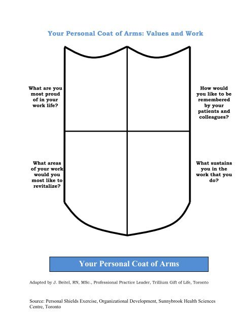Your Personal Coat of Arm