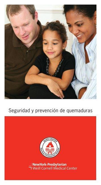 Seguridad y prevención de quemaduras - New York Presbyterian ...