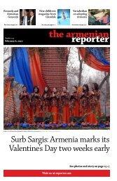 PDF edition - Armenian Reporter