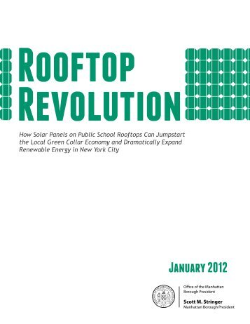Rooftop Revolution - Manhattan Borough President