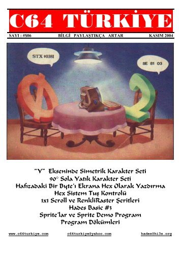 C64 Turkiye - Sayi 06 (Kasim 2004).pdf - Retro Dergi