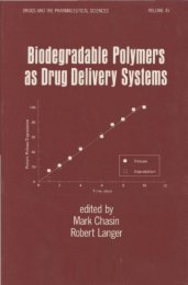 Biodegradable Polymers as Drug Delivery Systems - Asian Journal ...