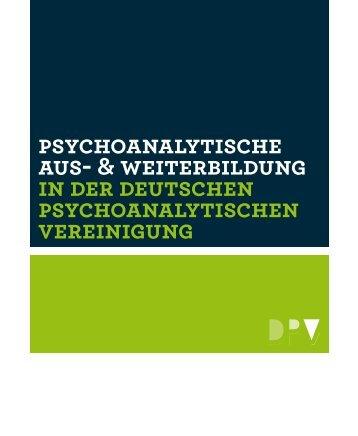 Psychoanalytische Aus - Psychoanalyse Aktuell