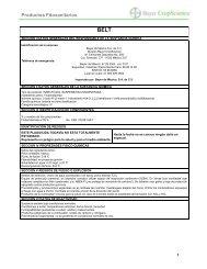 Productos Fitosanitarios - Bayer CropScience Mexico