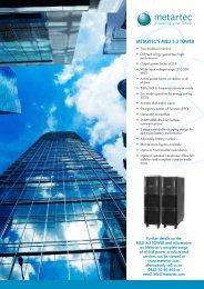 MeTarTec's MILLI 3:3 Tower