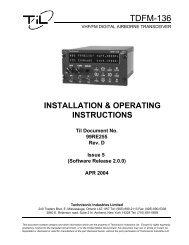 TDFM-136 Manual