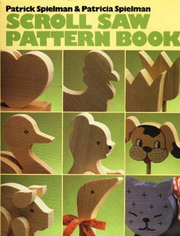 Scroll Saw Pattern Book - Wood Tools