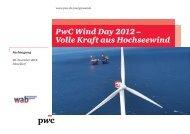 PwC Wind Day 2012 – Volle Kraft aus Hochseewind - wab.biz